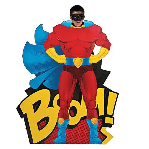 Superhero Standup - Cardboard Photo Cutout (4 ft Tall)]()