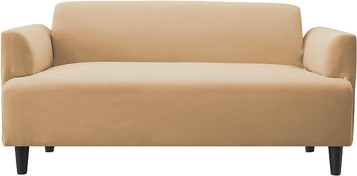Sofa Überwürfe Sofabezug Stretch elastische Sofahusse Sofa Abdeckung 3-Sitzer
