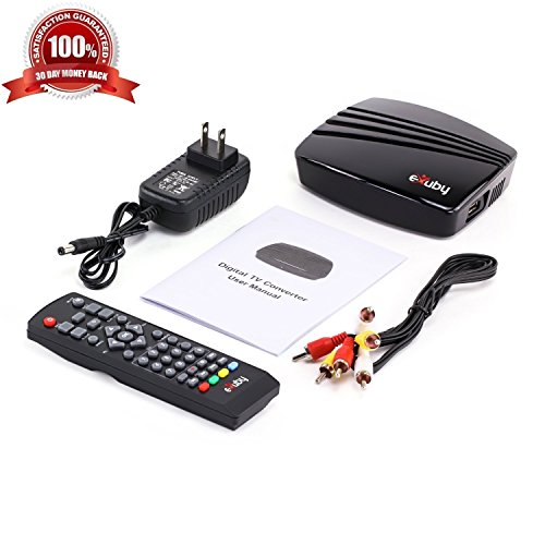WHY Pay for Cable? Use This Amazing Digital Converter Box to View and Record HD Digital Channels for Free (Instant or Scheduled Recording, 1080P HDTV, High Resolution, HDMI Output, 7 Day Program by eXuby (Image #6)