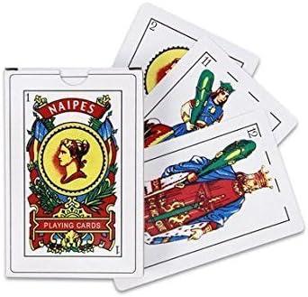 Chachlili 12 PACKS Of PUERTO RICO SPANISH PLAYING CARDS 50 BARAJA ESPANOLA BRISCAS NAIPES TAROT DECK WHOLESALE BULK LOT