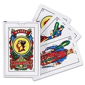 Amazon.com: 72 PACKS Of PUERTO RICO SPANISH PLAYING CARDS 50 ...