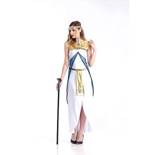 CLBING Disfraz De Halloween Egipto para Mujer Disfraz De Griega ...