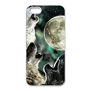 Howling under moon Sirius Cell Phone Case for iPhone 5S