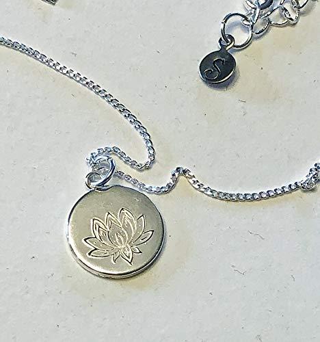 Coin Lotus - Lotus Coin Necklace