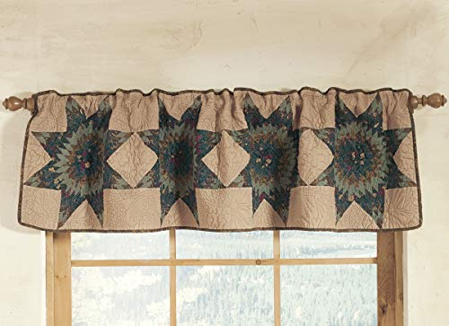 Donna Sharp Forest Star Cotton Valance/Table Runner 60