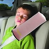 Valuetom Seatbelt Pillow, Car Seat Belt Covers for Kids, Adjust Vehicle Shoulder Pads, Safety Belt Protector Cushion, Soft Auto Seat Belt Strap Cover Headrest Neck Support for Children Baby (Pink)