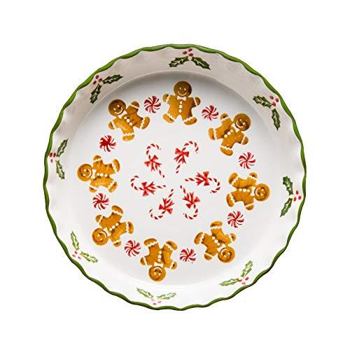 Ensalada Bandeja de pizza bandeja de cerámica placa ...