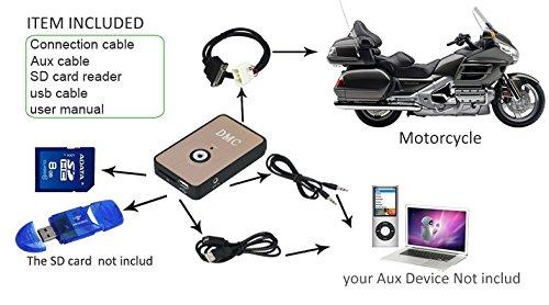 Digital Music Changer Player Media CD Changer MP3 for Honda GOLDWING 1800 GL1800 2001-2015 by COBIKE (Image #2)