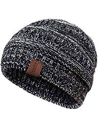 a3960ff0338 Kids Winter Warm Fleece Lined Hat