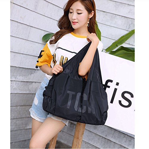 Gran Bolso Cloth Bolso Hombro Bag Nuevo Nylon De De Shoulder Bag De De Tela New Capacidad Simple De color Bag Guofeng Bag Simple Nylon Bolsa Capacity Mujer Red Black Guofeng color Black Large Bolsa Woman Red 8ZdUYpwqZ