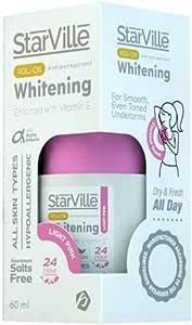 Starville Lightening Roll-On & Antiperspirant for Women light pink , 60 Gm