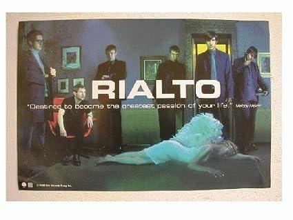 amazon com rialto promo poster cool band shot prints posters prints