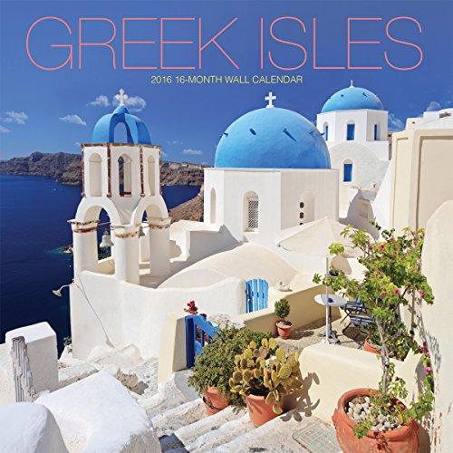 Avalon 2016 Wall Calendar, Greek Isles (86233)