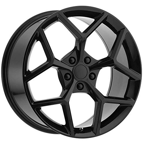 126GB Camaro Z28 OE Replica 20x9 5x120 +30mm Gloss Black Wheel Rim