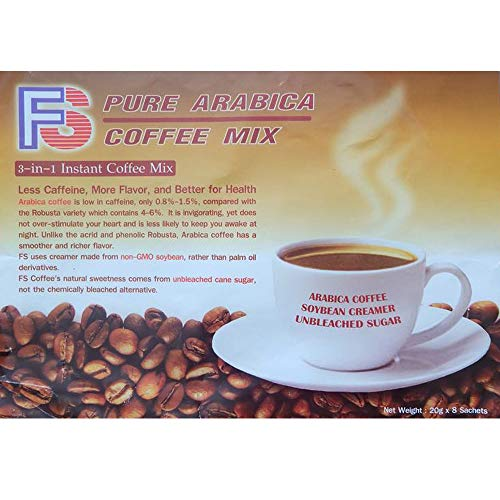 Instant coffee packets with creamer soybean 20g x 8 sachets product of Thailand ️
