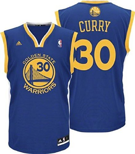 Stephen Curry Golden State Warriors NBA Adidas Infant Blue Road Replica Jersey