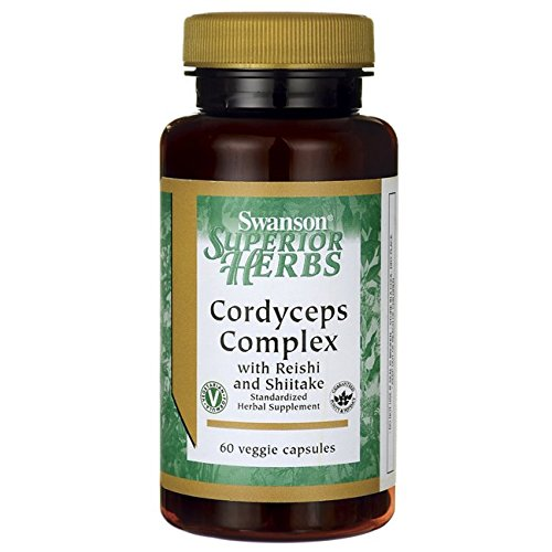 Swanson Cordyceps Complex 60 Veg Capsules For Sale