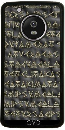 Funda de silicona para Moto G5 Plus - Texto Vikingo by hera56