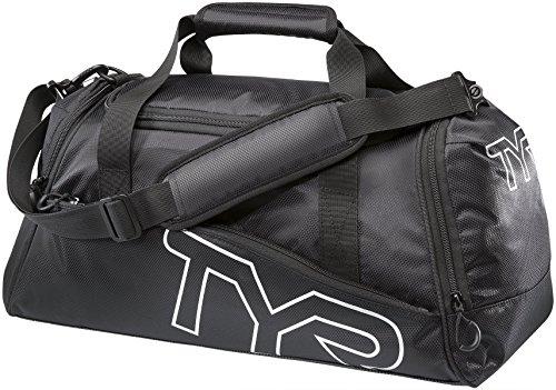 TYR Small Duffel Bag, Black, Medium