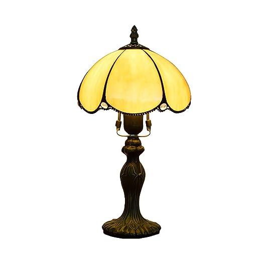 CH-LIGHT Lámpara De Mesa Estilo Europeo Simple Retro Amarillo Al ...