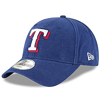 Texas Rangers New Era Core Fit 49FORTY Fitted Hat Royal