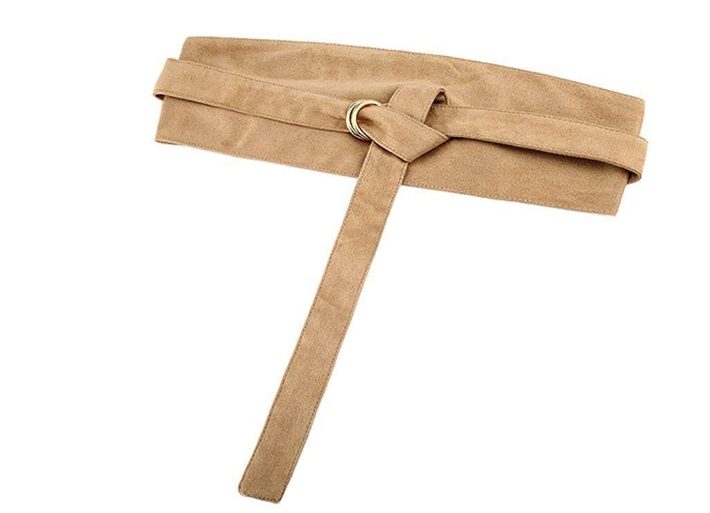 EMMACHOU Cinturones Vestidos de mujer Nudo de corbata Ancho Faja ...