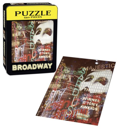 USAopoly Broadway Puzzle - Entertainment Center Usually Ships