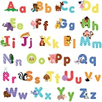 treepenguin Kids Animal Alphabet Wall Decals: Cute...