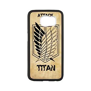 DIY Printed Attack on Titan hard plastic case skin cover For Samsung Galaxy S6 SN9Q960803