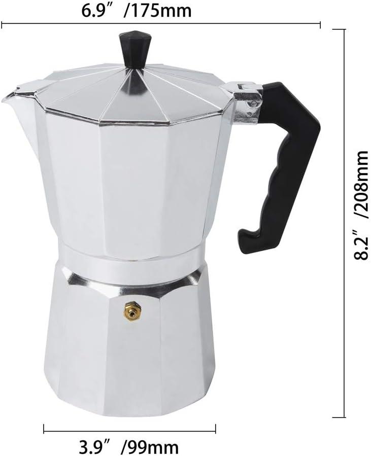 wcic 1/3/9 para fogón Expresso cafetera de filtro cafetera ...