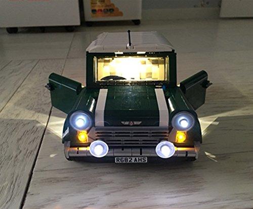 [해외] LEGO 레고 creator 10242 호환 미니 쿠퍼MK VII LED 라이트 키트