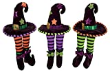 Club Pack of 12 Decorative Plush Witch Hat Shelf Sitters Halloween Figure 13''