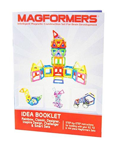 Magformers Challenger Set (112-pieces) Deluxe Magnetic Building Blocks, Educational Magnetic Tiles Kit , Magnetic Construction shapes STEM Toy Set - 63077