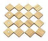 Wooden Bamboo Fridge Whiteboard Magnets - Beautiful