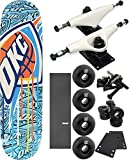 Shut Skateboards X NBA Lab Oklahoma Thunder Skateboard 8'' x 32'' Complete Skateboard - Bundle of 7 items