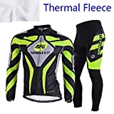 sponeed Men's Cycling Jersey Full Sleeve Riding Wear Long Sleeve T Shirts Pants