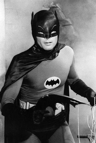 Adam West Batman B&W 24X36 Poster at Gotham City Store