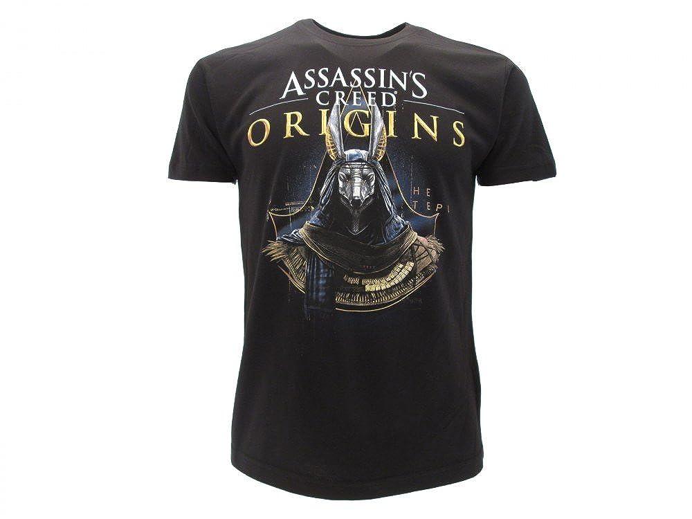 T-Shirt GOLD ANUBI Anubis taille XS (EXTRA SMALL - 12/14 Ans) de Assassin's Creed Origins - 100% Original and Officiel