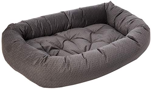 Bowsers Donut Bed, XX-Large, Pewter Bones