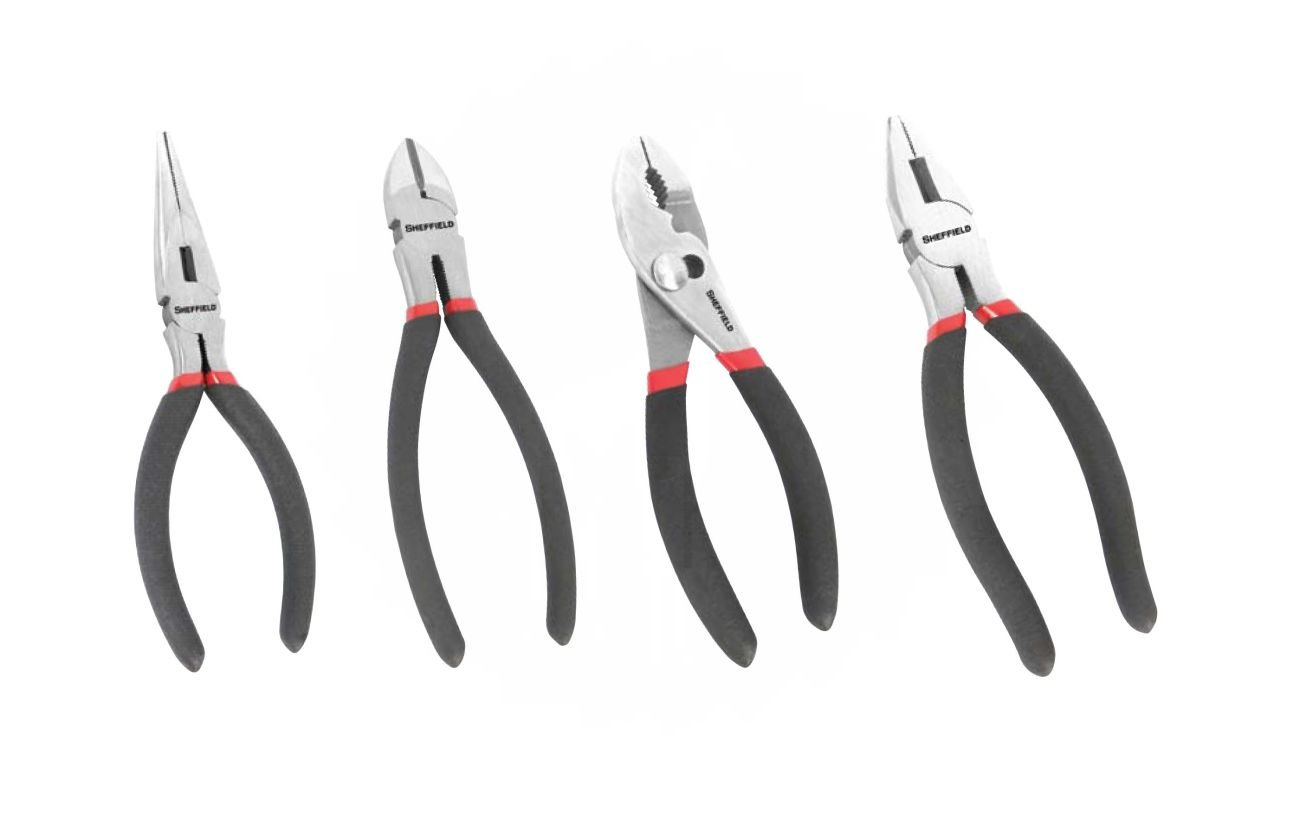 Great Neck Saw 64004 6 Pack 4Pc. Plier Set