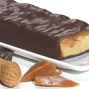 14 barras de caramelo chocolate cacahuete proteínas – régimen ...