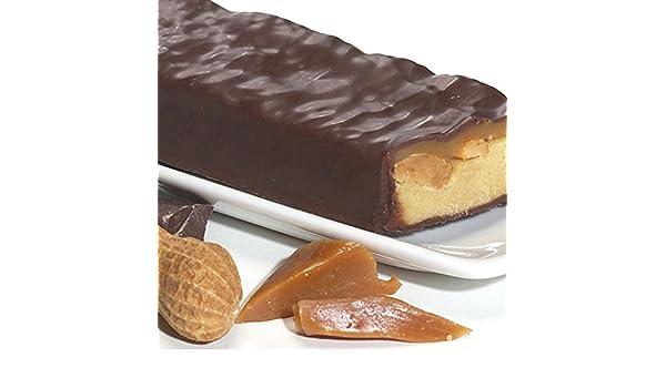 28 Barras Caramel Chocolate cacahueta proteínas - Régimen ...