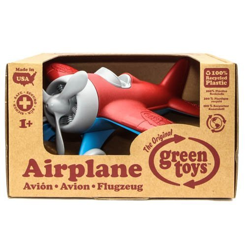 Green Toys Airplane - Colors - Green Toys Airplane