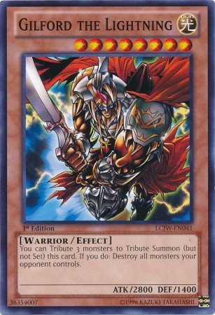 Amazon Com Yu Gi Oh Gilford The Lightning Lcjw En041