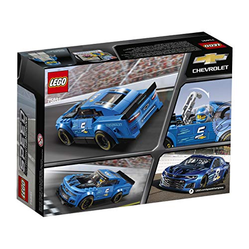 LEGO Speed Champions Chevrolet Camaro ZL1 Race Car 75891 Building Kit (198 Pieces)