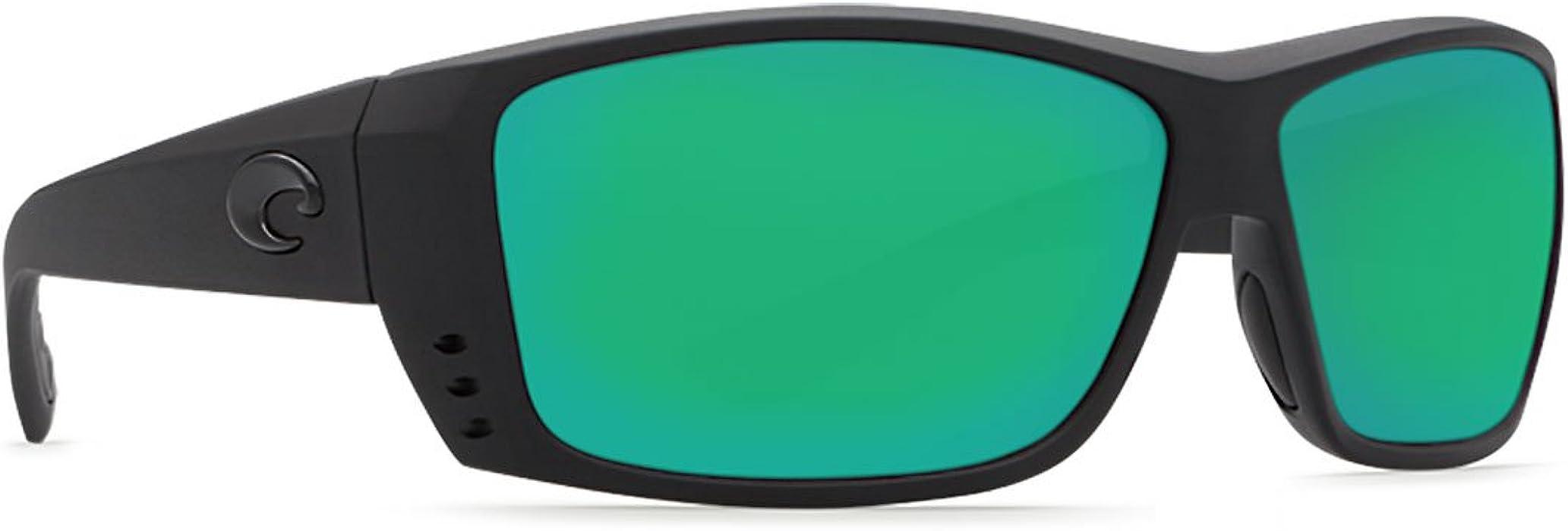 1d4c04c79cc Costa Del Mar Cat Cay 580G Polarized Sunglasses in Blackout   Green Mirror  Lens