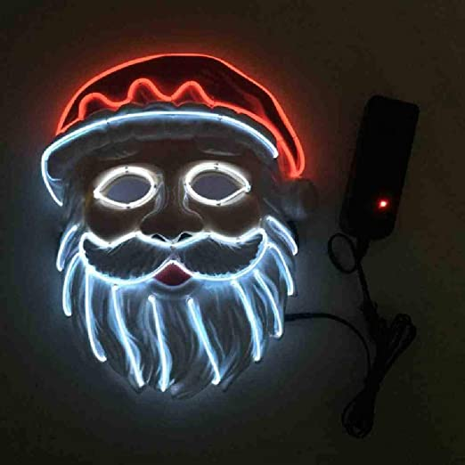 Halloween Máscara de Navidad LED Máscaras de Purga Elección de ...