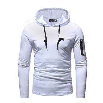Moonuy Chemises Jean Hommes Automne Hiver Vintage Fitted Sweat-Shirt Zippée Homme  Manches Longues T ba2353b5a31d
