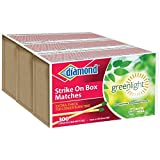 Diamond GreenLightTM Kitchen Matches - 3 Pack - 300 Matches per Pack x...