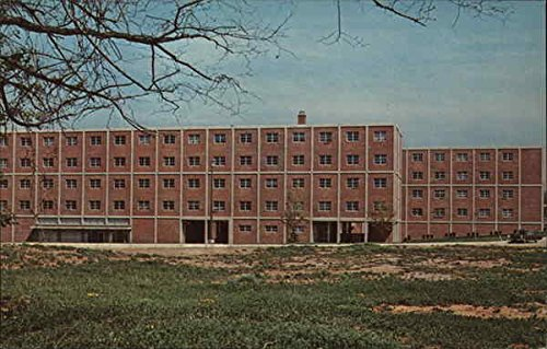 Naugle Hall, Shippensburg State College Shippensburg, Pennsylvania Original Vintage Postcard